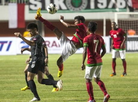 Timnas U-23 Indonesia Menang Tipis Atas Brunei U-23