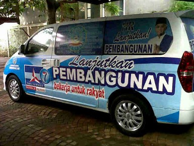 Bima Arya Bantah Mobil PD dengan Foto Hatta untuk Kampanye Pilwalkot Bogor