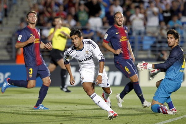 Real Madrid Castilla vs Barcelona B, 25 Agustus 2012 (Real Madrid via Getty Images)