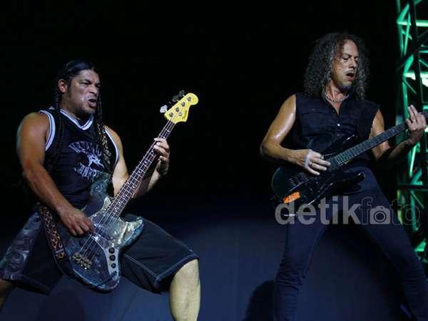 Metallica Membakar Jakarta