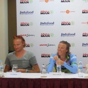 \Ironman\ David Dellow & Gina Crawford Antusias Berkompetisi di MetaMan Bintan