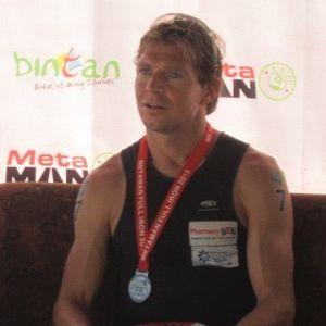 Ogden dan Steffen \Ironman\ Terbaik di Bintan