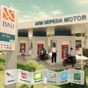 BNI Sediakan ATM Khusus Para Bikers