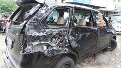 3 Kondisi Avanza yang Terlibat Kecelakaan Maut di KM 8 Tol Jagorawi