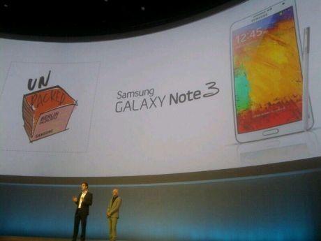Peluncuran Galaxy Note 3 (ilustrasi/fyk/inet)