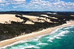 Yang Unik di Australia, Gurun Pasir di Dekat Pantai