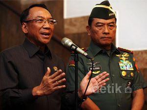 Panglima TNI Temui Jero Wacik