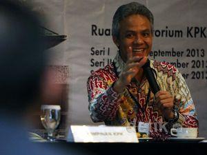 Ganjar Pranowo Jadi Pembicara di KPK