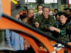 SBY Resmikan Pabrik Ban Hankook