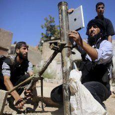 Pemberontak Suriah Pakai iPad untuk Tembakkan Mortir