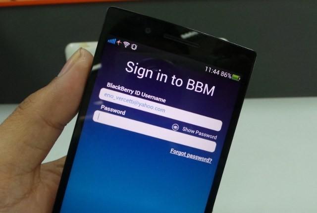 BBM di Android (detikINET)