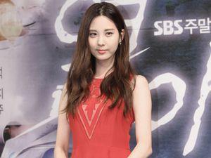 Manisnya Seohyun SNSD Berbaju Merah