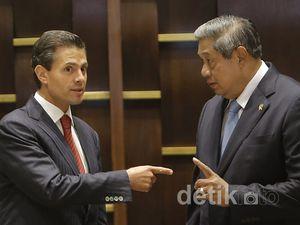 Pertemuan Presiden RI - Presiden Meksiko