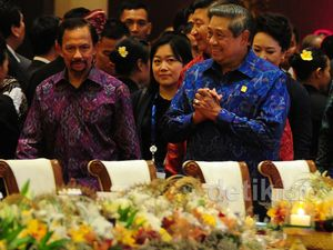 Presiden SBY Jamu Para Pemimpin APEC