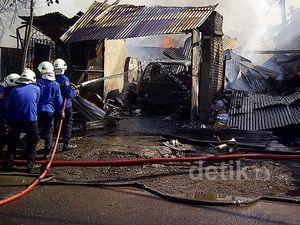 Api Lalap Pabrik Sablon di Surabaya