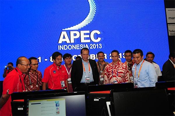 Delegasi Dan Peserta Konferensi APEC 2013 Puji Kualitas Infrastruktur ICT Telkom