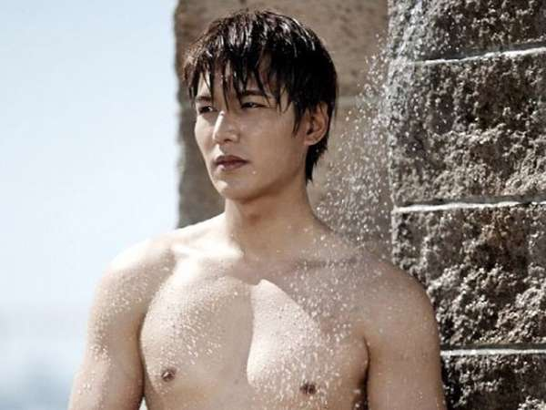 Lee Min Ho Topless di Heirs