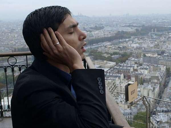 Ini Dia Foto-foto Abimana Adzan di Menara Eiffel