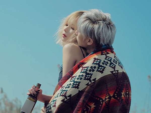 Adegan Mesra HyunA dan Hyunseung di Video Klip Now