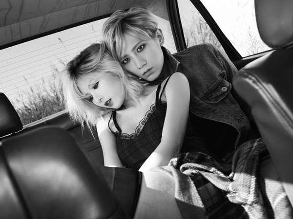 Foto-foto Hot HyunA dan Hyunseung untuk Now