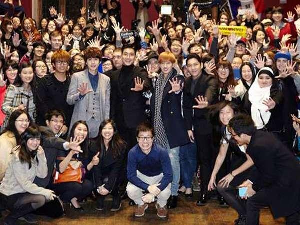 Super Junior Gelar Kuliah Umum di Universitas Oxford