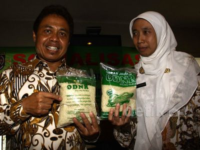 Nur Mahmudi Gaungkan Gerakan One Day No Rice