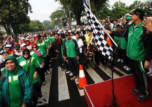 Gerak Jalan Santai Kerukunan Antar Umat Beragama