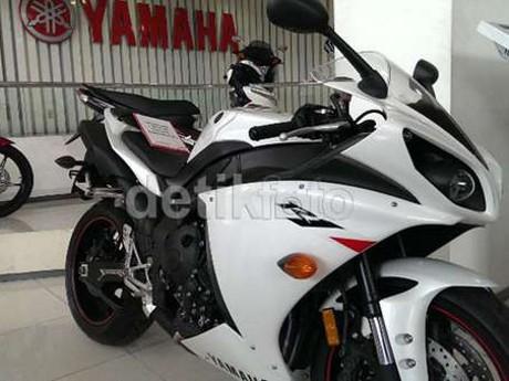4 Motor Besar Yamaha Mendarat di Jakarta