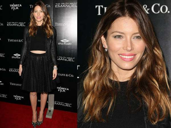 Pesona Jessica Biel di Premiere The Truth About Emanuel