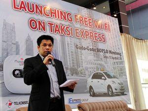Wifi Gratis di Dalam Taksi