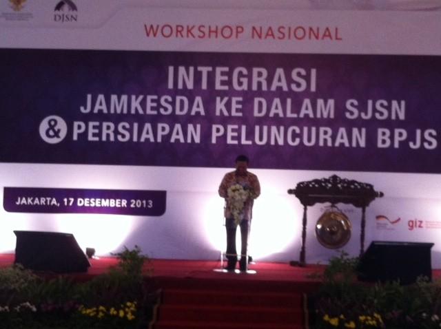 1 Januari 2014, KJS akan Terintegrasi dengan Program BPJS Kesehatan