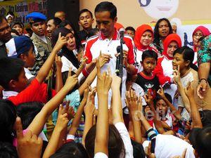 Jokowi Deklarasikan Jakarta Kota Layak Anak