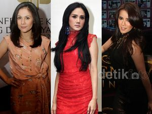 10 Hot Mom Artis Indonesia 2013