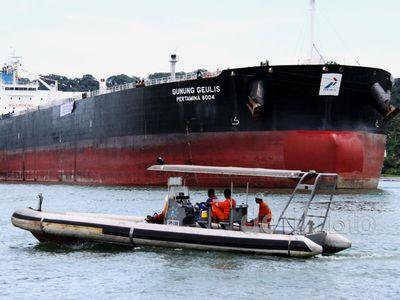 Pelepasan Kapal Tanker Pertamina ke Aljazair