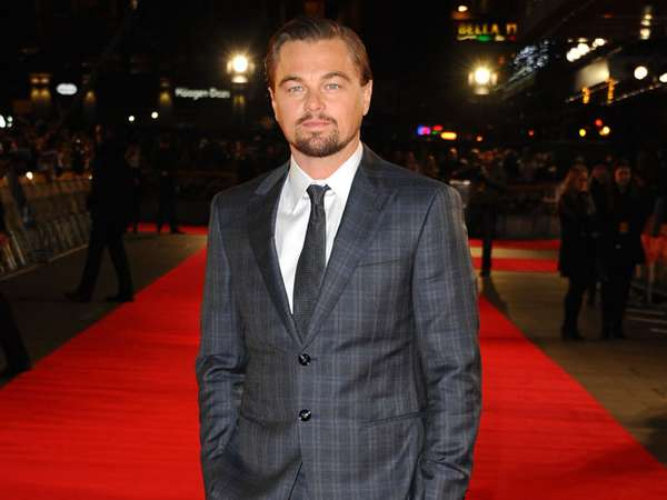 Leonardo DiCaprio Eksis di Premiere The Wolf of Wall Street