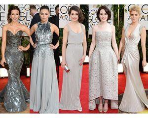 Tren Golden Globes Awards 2014, Gaun Merah dan Anting Besar