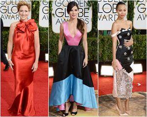 Selebriti dengan Gaun Terburuk di Golden Globes, Emma Watson Hingga Kelly Osbourne