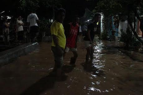 Curah Hujan Tinggi, Ratusan Rumah di Semarang Terendam Banjir