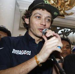 Valentino Rossi Terkesan dengan Kemacetan Jakarta