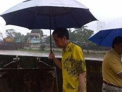 Ini Resep Jokowi Biar Tetap Bugar di Musim Hujan