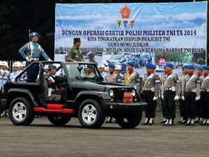 TNI Gelar Operasi Gaktib dan Yustisi