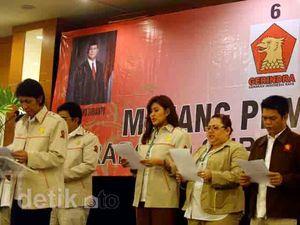 Gerindra Usung Prabowo jadi Presiden