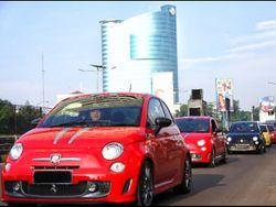 Touring Perdana Komunitas Mobil Abarth