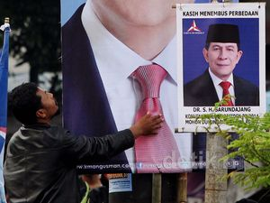 Poster Peserta Konvensi Capres PD Penuhi Bandung