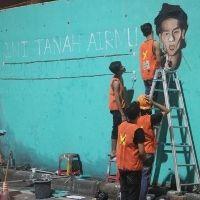 Wiji Thukul Jadi Ikon Barisan Pengingat dan Mural