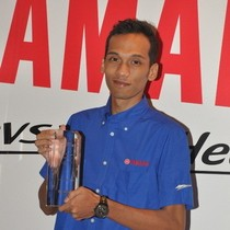 Sigit PD Raih Yamaha Rider Award