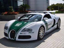 Akhirnya, Polisi Dubai Pakai Mobil Tercepat Sejagat