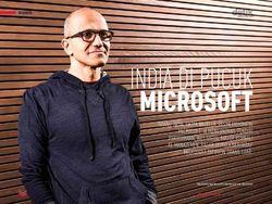 India di Pucuk Microsoft