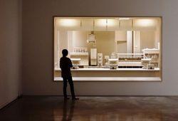 Seniman Ini Ciptakan Diorama Dapur Restoran Cepat Saji dari Kayu