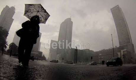 Pagi Ini Sejumlah Wilayah di Jakarta Diguyur Hujan
